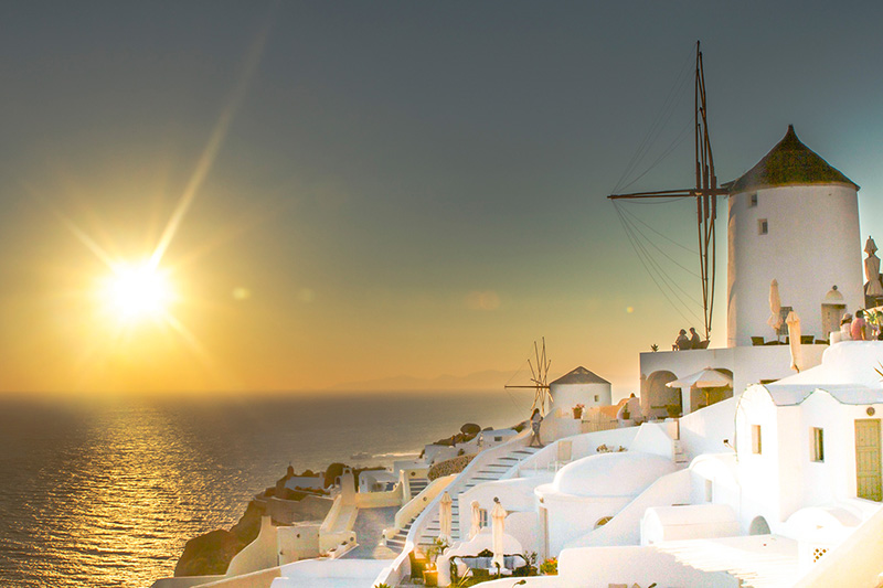 Travel Tall, by Eric Giuliani, Santorini, passion for travel