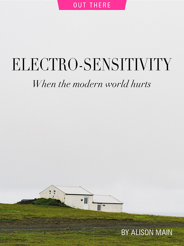 electrosensitivity by Alison Main, photograph by Victoria Wright
