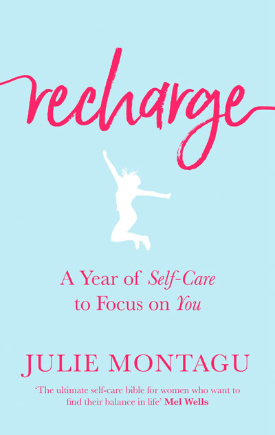 Recharge, bok cover, by Julie Montagu