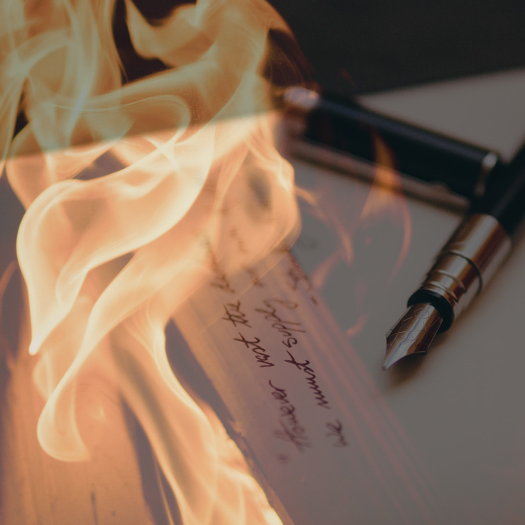 Burning letters the therapy of letter writing and letting Calligraphy youtube