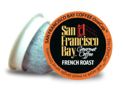 San Franscisco Bay Gourmet Coffee compostable K-cup