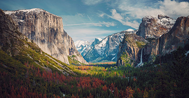 Nature's Healing: A Trip to Yosemite Restores a Stressed-Out Soul by Joe Watson. Photograph of Yosemite Valley California by Aniket Deole