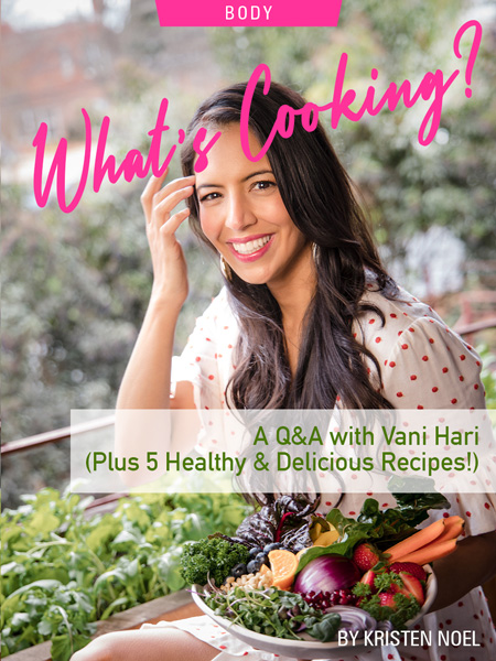 What's Cooking? A Q&A With Vani Hari (Plus 5 Healthy & Delicious Recipes!) by Kristen Noel. Photograph of Vani Hari and her garden by Susan Stripling