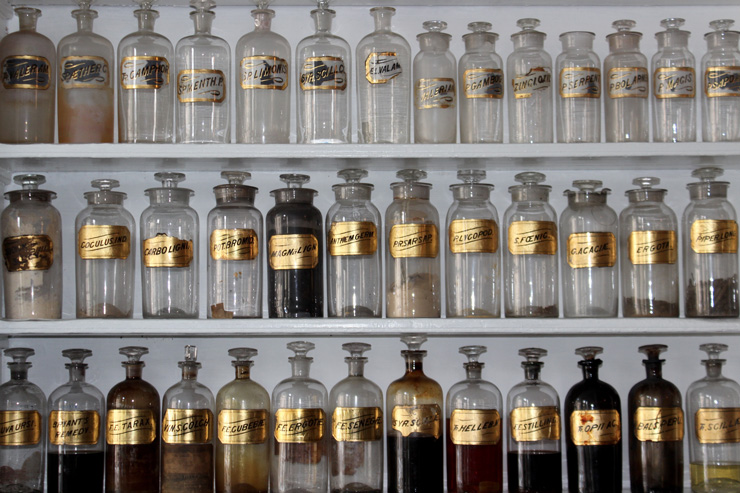 As Mainstream Medicine is Failing Us, is Functional Medicine the New Frontier? by Sophia Smith. Photograph of vintage apothecary bottles by Matt Briney